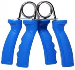 Sports Solutions Best Quality Plastic Hand Grip For Gym and Home Exerciser. 1 Pair Hand Grip/Fitness Grip(Blue)