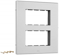 Anchor By Panasonic 66988SL Roma Urban Modular Polycarbonate 8M Square (Silver, Pack of 5)