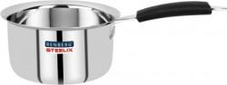 Renberg Steelix Stainless Steel Saucepan 16cm (RBIN-1063) Pot 16 cm diameter 1.35 L capacity(Stainless Steel)