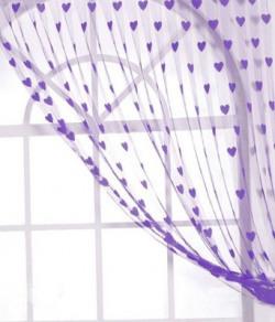 Elegance 84 cm (2 ft) Polyester Window Curtain (Pack Of 2)(Self Design, Multicolor)