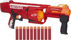Nerf N-Strike Mega RotoFury Blaster Guns & Darts(Multicolor)