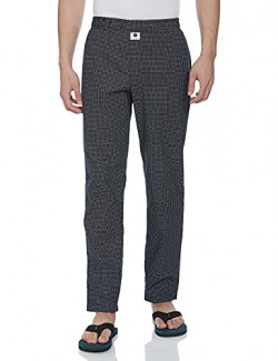 Amazon Brand - Symbol Men's Printed Regular Fit Pyjamas Pajama Bottom (A2-SYMPJ-DUR-10_Navy18_M)