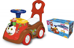 Toyzone Locomotive Kids Rider Car Action -Multicolour