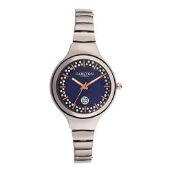 Carlton london Analog Blue Dial Women's Watch-CL028GBLG