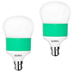 Surya Neo Gold 12 Watt B22 Base LED Bulb (Cool Day White, Pack of 2)