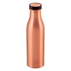 Attro Aarogyam Vedic Matte Finish Joint-less Copper Water Bottle,1000 ml