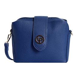 Lino Perro Tan Colored Sling bag (BLUE)