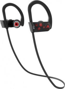 boAt Rockerz 261 Bluetooth Headset(Raging Red, In the Ear)