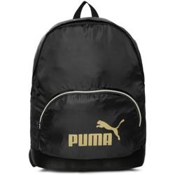 PUMA Women Brand Logo Backpack 23 L Backpack(Black)
