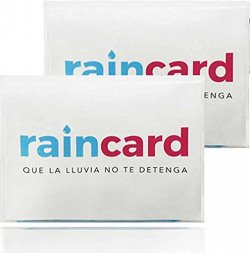 Pradima Men & Women Emergency Pocket Raincoat set of 1 (Transparent)