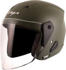 VEGA Lark Motorbike Helmet(Green)