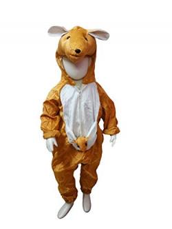BookMyCostume Australian Kangaroo Animal Kids Fancy Dress Costume 3-4 years