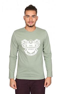 Vector X VTC-002-E Full Sleeves Cotton Round Neck T Shirt (S)