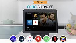 All new Echo Show 10- 10.1  HD smart display with motion, premium sound and Alexa (Black)
