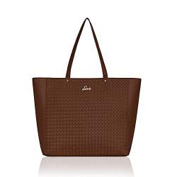 Lavie Extra Large Malnov Womens Tote Bag (Tan Brown)