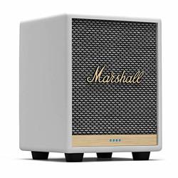 Marshall Uxbridge Home Voice Speaker with Amazon Alexa Built-in,White