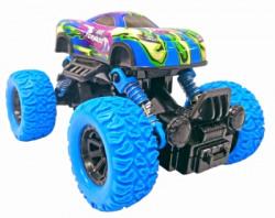 Toyshack Rock Crawler Monster Truck Pull Back with Rubber Wheels for Kids(Blue)
