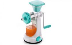 Ganesh Plastic Hand Juicer Ganesh Fruit & Vegetable Steel Handle Juicer, Blue(Multicolor Pack of 1)