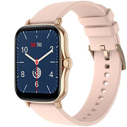 Fire-Boltt Beast SPO2 1.69  Full Touch Large HD Color Display Smart Watch, 8 Days Battery Life, IP67 Waterpoof with Heart Rate Monitor, Sleep & Breathe Monitoring with Rotating Button (Gold)