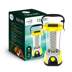 Wipro LED Citrine Rechargeable Solar LED Lantern (Yellow)