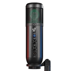 Redgear Shadow Vox Gaming Microphone with RGB Lighting, Adjustable Tripod and Echo & gain Control