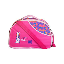 Mee Mee Diaper Bag (with Removable Shoulder Straps, Pink) (MM-3590_Pink)