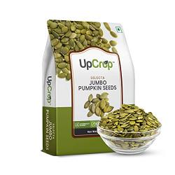 UpCrop Selecta Jumbo Pumpkin Seeds Bag, 200 g