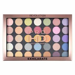 Makeup Revolution Pro HD Amplified 35 Palette (Eyeshadow), Exhilarate, 29.995g