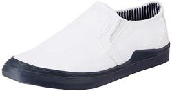 Amazon Brand - Symbol Men's White Sneakers-7 UK (41 EU) (8 US) (AZ-SY-414)