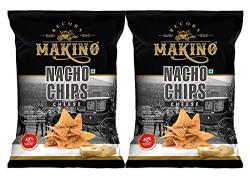 Makino Nacho Chips, Cheese Pouch, 2 x 200 g